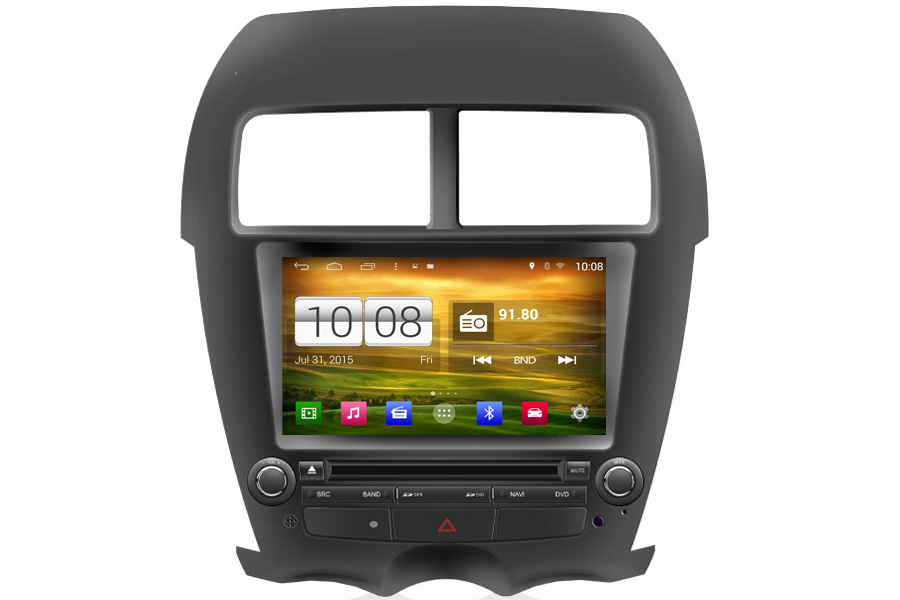 Android OS Navigation Radio Player For Citroen C4