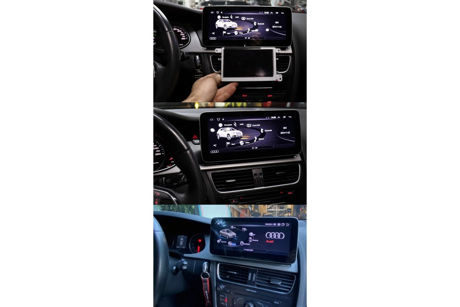 Audi A4/S4/RS4(B8) 2008-2016 radio upgrade with 10 inch screen