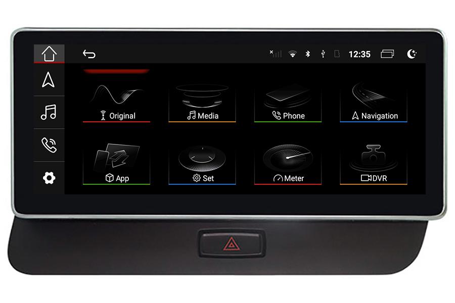 Audi Q5 RHD 2008-2017 Radio Upgrade with 10 inch screen
