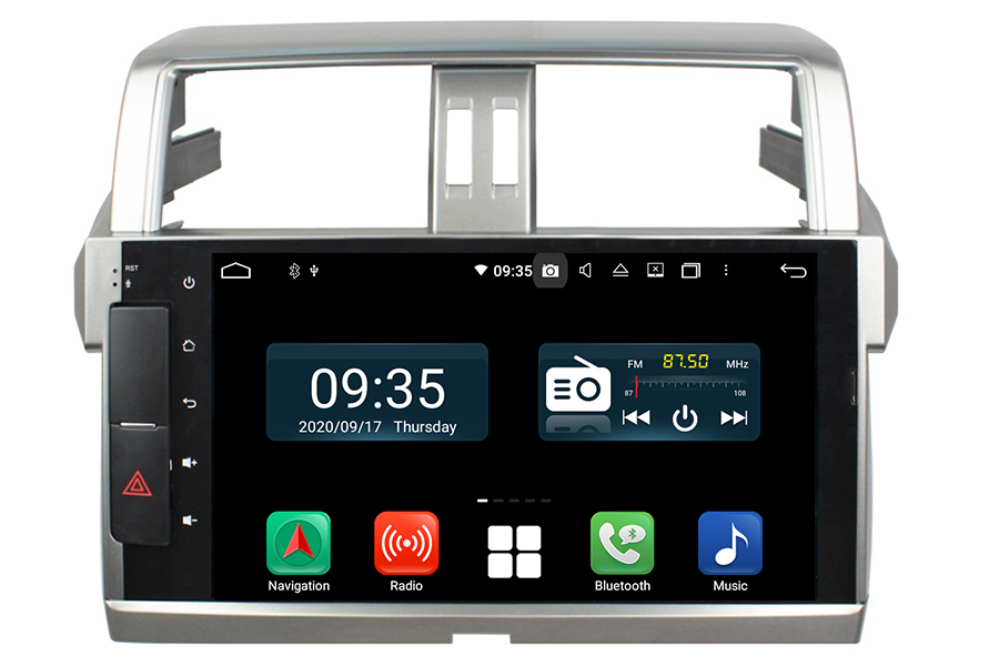 Toyota Prado 2017-2019(J150) Aftermarket Radio Upgrade