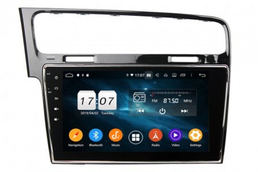 VW Golf/Gti 2012-2019 Autoradio GPS Aftermarket Android Head Unit Navigation Car Stereo