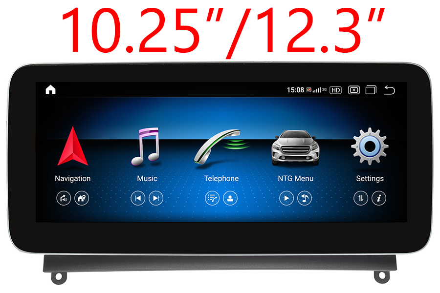 Mercedes-Benz Series 2011-2019 Autoradio GPS Aftermarket Android Head Unit Navigation Car Stereo