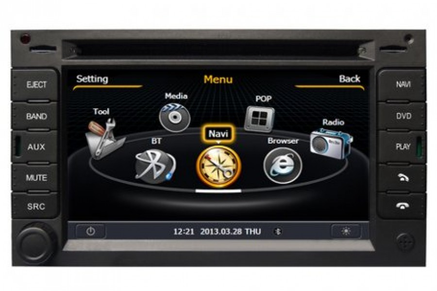 VW Golf 2013-2017 Autoradio GPS Aftermarket Android Head Unit Navigation Car Stereo