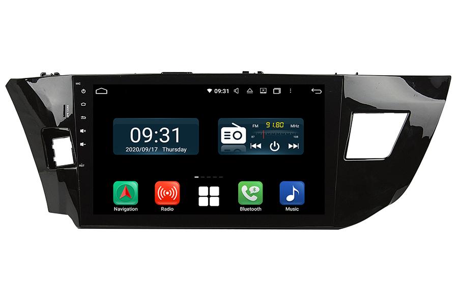 Toyota Corolla 2013-2016 LHD Aftermarket Radio Upgrade carplay dab