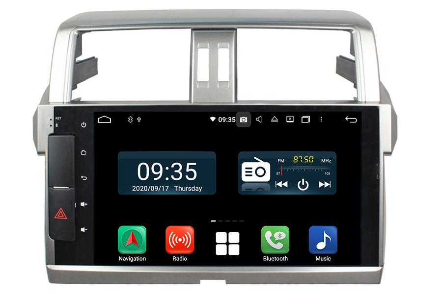 Toyota Prado 2014-2015(J150) Aftermarket Radio Upgrade