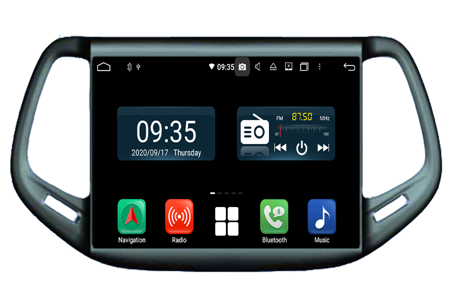 Jeep Compass 2016-2017 Android Navigation Head Unit
