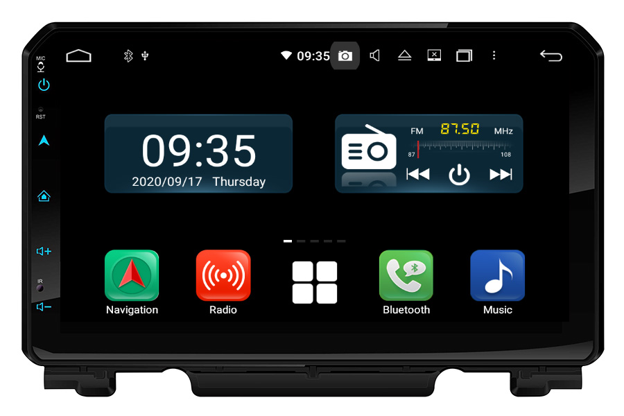 Suzuki Jimny 2019-2020 LHD Aftermarket Radio Upgrade