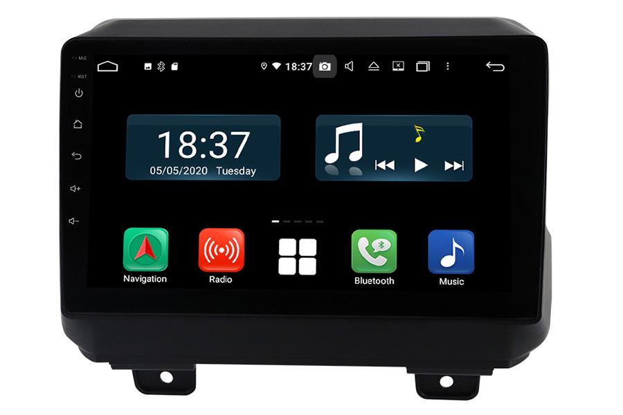 Jeep Wrangler 2018-2020 Aftermarket Radio Upgrade