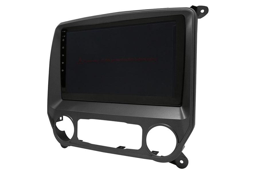 Chevrolet Silverado Plateado 2014-2019 Aftermarket Radio Upgrade