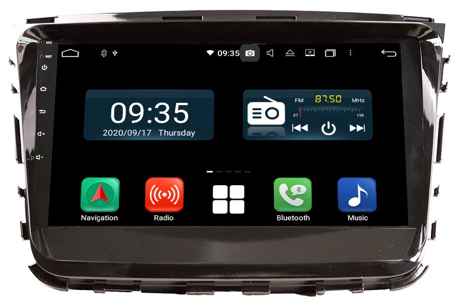 Ssangyong Rest 2019-2020 Aftermarket Radio Upgrade