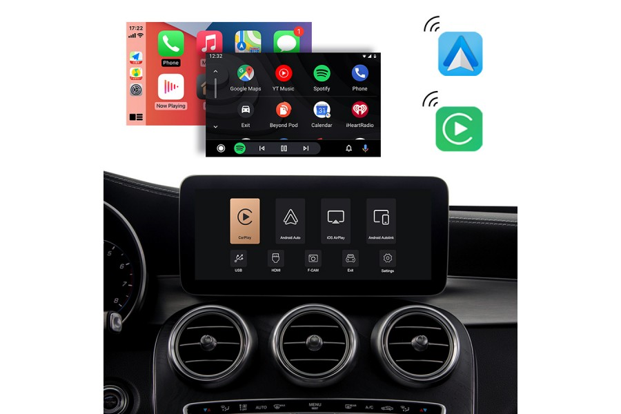 CarPlay/Android Auto/Camera system for Audi A6