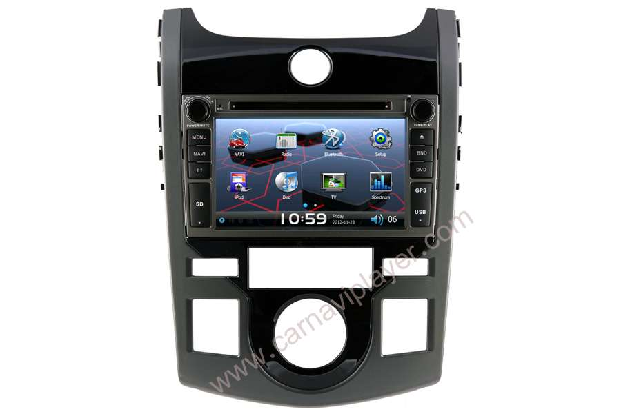 Kia Forte Koup 2008-2012 Autoradio GPS Aftermarket Android Head Unit Navigation Car Stereo