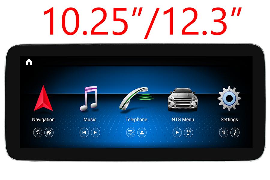 Mercedes-Benz A(W176)/CLA(C117)/G(W463)/GLA(X156) radio upgrade