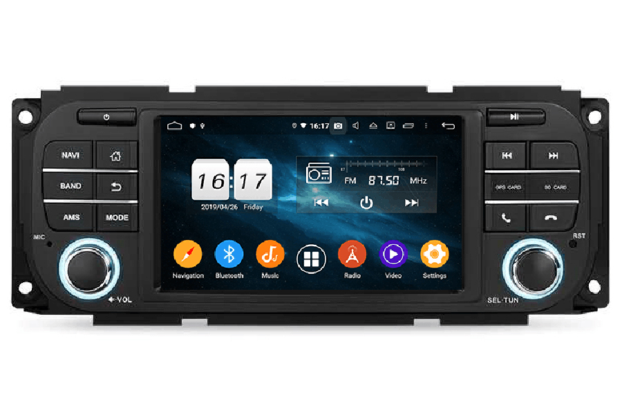Chrysler Series 2002-2007 Autoradio GPS Aftermarket Android Head Unit Navigation Car Stereo