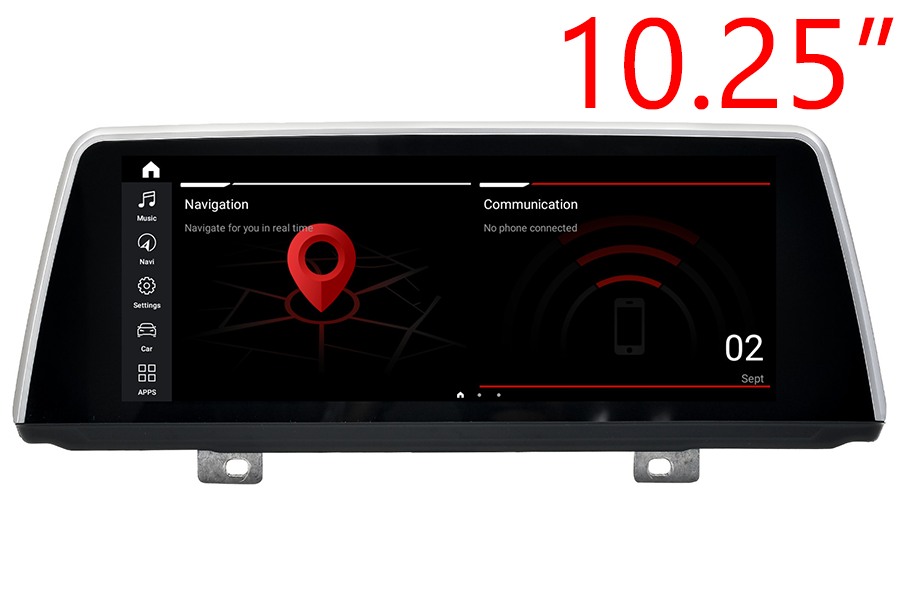 """BMW 7 Series(G11) 2016-2020 Radio upgrade with 10.25"""" screen"""