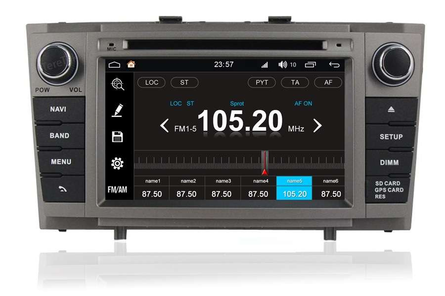 Toyota Avensis 2009-2013 Autoradio GPS Aftermarket Android Head Unit Navigation Car Stereo