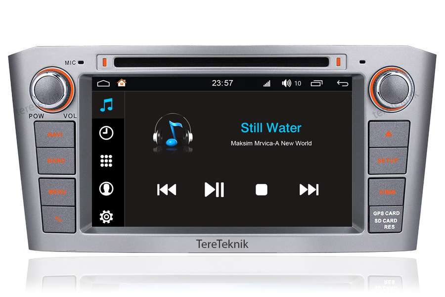 Toyota Avensis 2003-2007 Autoradio GPS Aftermarket Android Head Unit Navigation Car Stereo