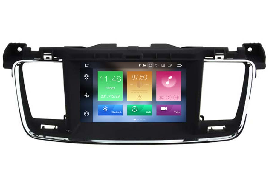 Peugeot 508 2010-2014 Autoradio GPS Aftermarket Android Head Unit Navigation Car Stereo