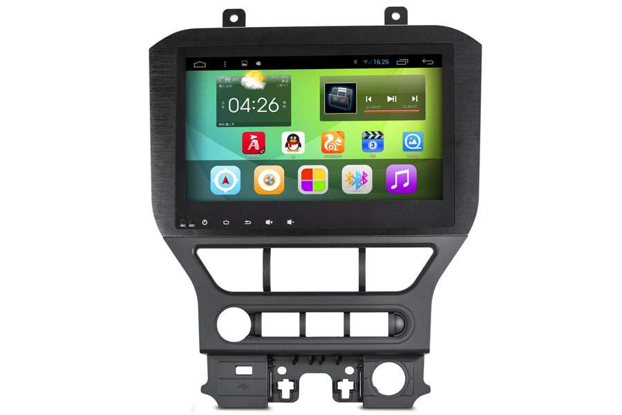Ford Mustang 2014-2015 Autoradio GPS Aftermarket Android Head Unit Navigation Car Stereo