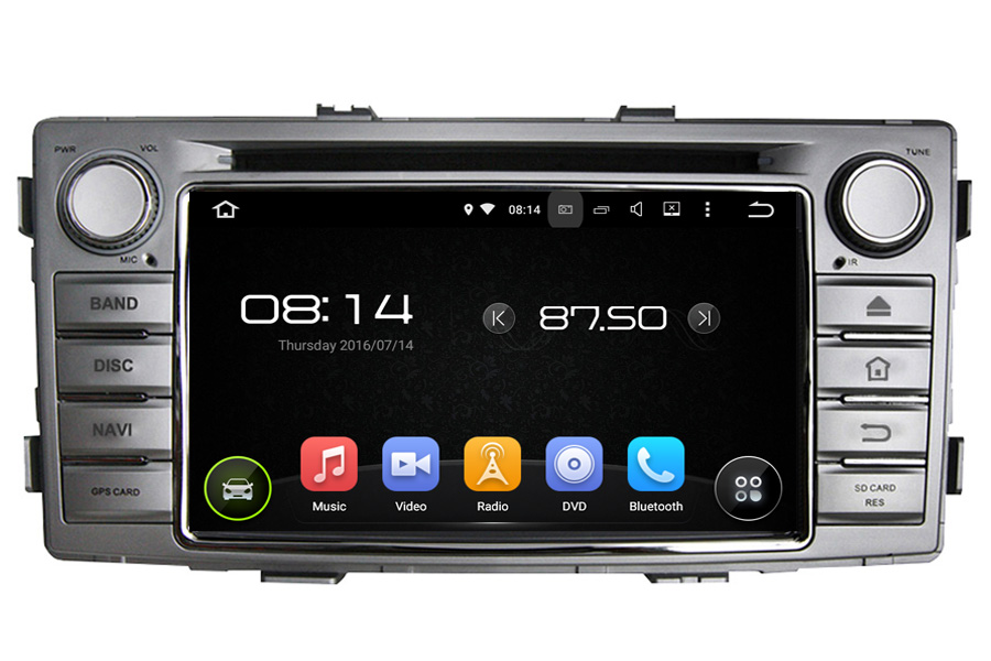 Toyota Hilux 2012-2015 Autoradio GPS Aftermarket Android Head Unit Navigation Car Stereo
