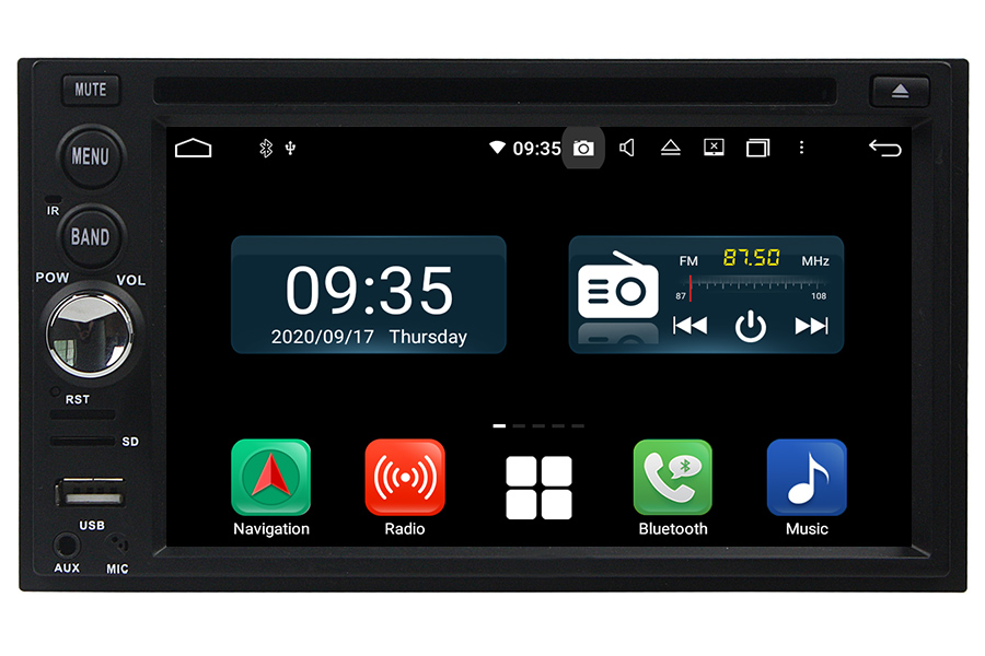 Double Din Radio Upgrade with DVD and 6.2 inch touchscreen
