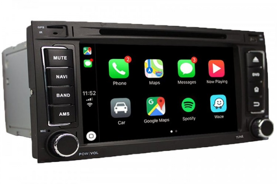 VW Touareg 2003-2010 Autoradio GPS Aftermarket Android Head Unit Navigation Car Stereo
