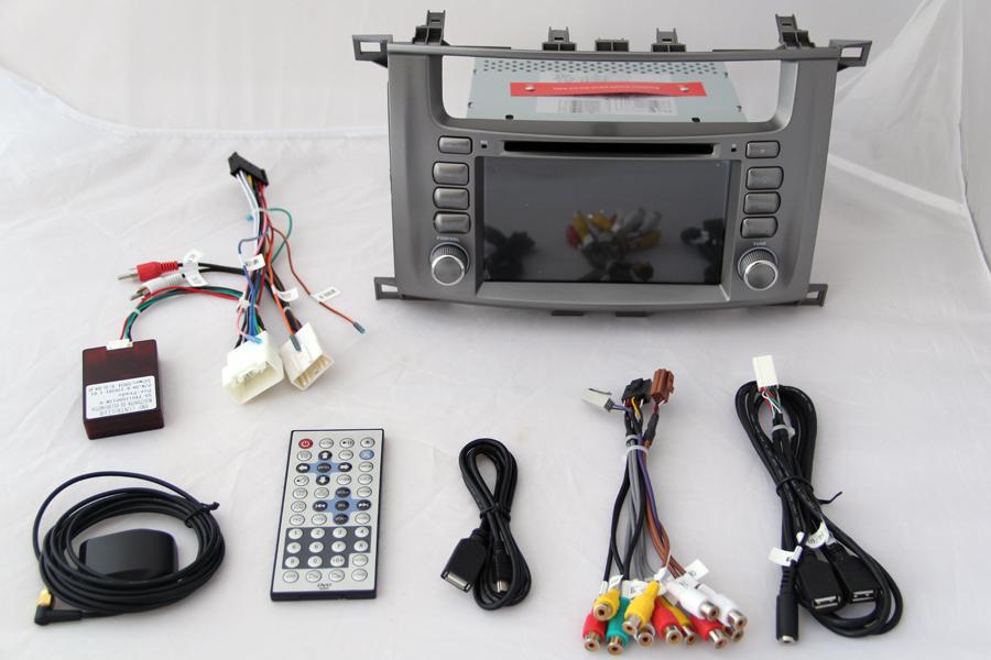 Lexus LX470 2003-2007 Autoradio GPS Aftermarket Android Head Unit Navigation Car Stereo