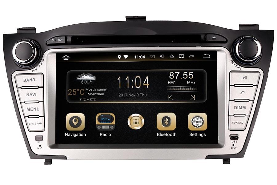 Hyundai IX35/Tucson 2009-2013 Autoradio GPS Aftermarket Android Head Unit Navigation Car Stereo