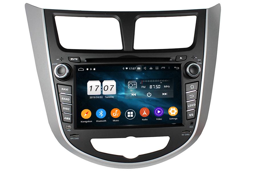 Hyundai Series 2008-2012 Autoradio GPS Aftermarket Android Head Unit Navigation Car Stereo