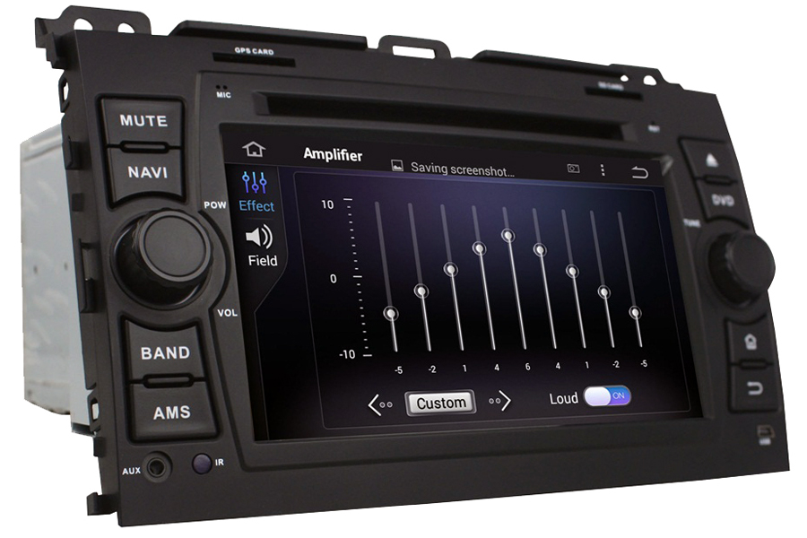 Toyota Land Cruiser J120 2002-2009 Autoradio GPS Aftermarket Android Head Unit Navigation Car Stereo