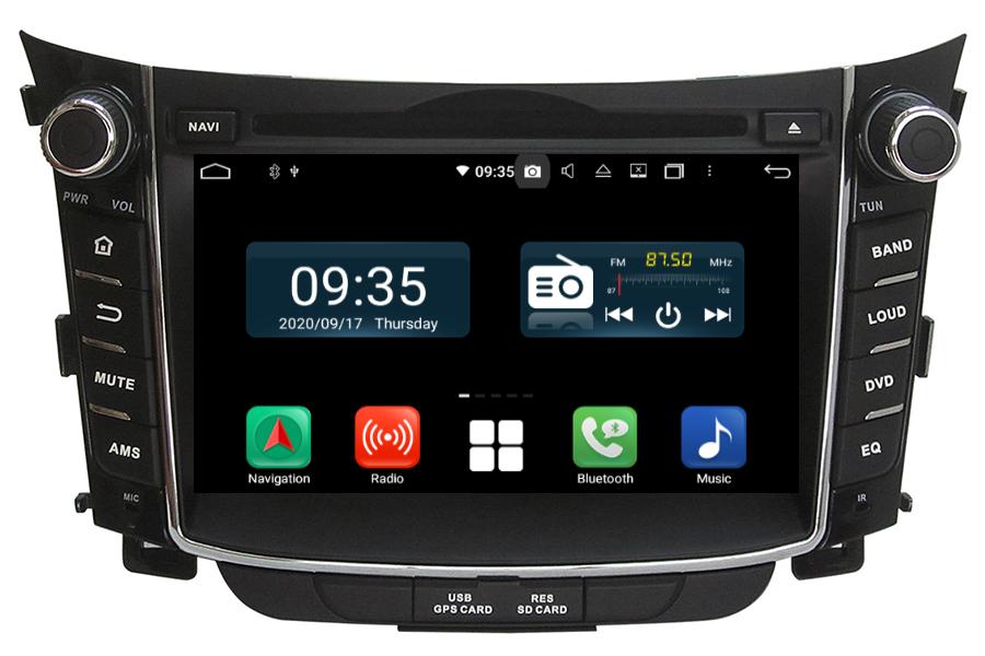 Hyundai i30 2011-2014 Aftermarket Radio Upgrade