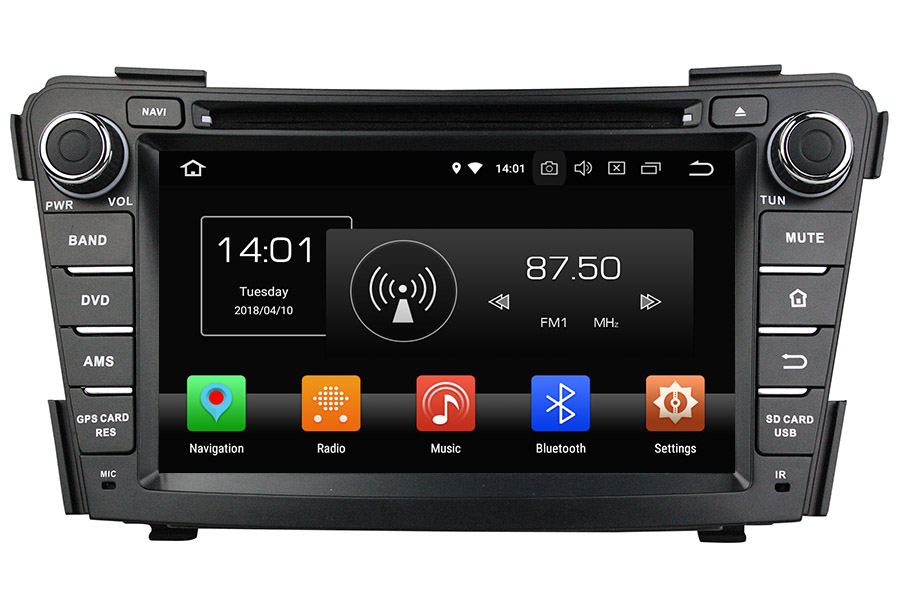 Hyundai i40 Autoradio GPS Aftermarket Android Head Unit Navigation Car Stereo