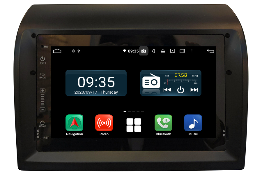 Fiat Ducato 2008-2015 Aftermarket Radio Upgrade