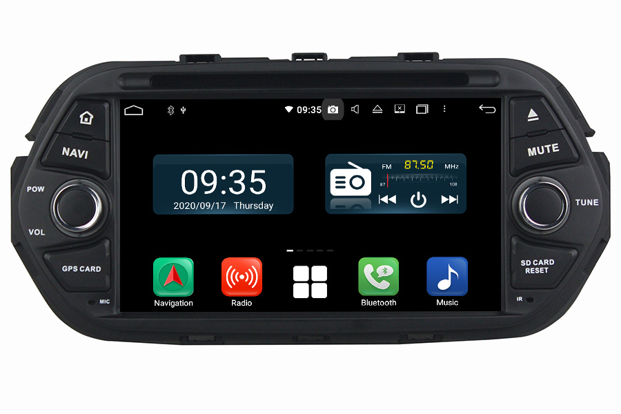 Fiat Tipo/Egea 2016-2018 Aftermarket Radio Upgrade