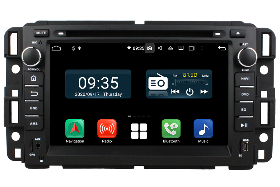Chevrolet Series 2007-2014 radio upgrade Aftermarket Android Head Unit Navigation Car Stereo