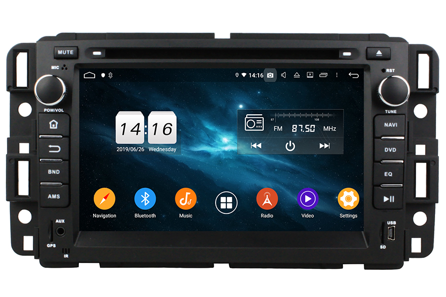 Saturn Outlook/Vue 2008-2012 Autoradio GPS Aftermarket Android Head Unit Navigation Car Stereo