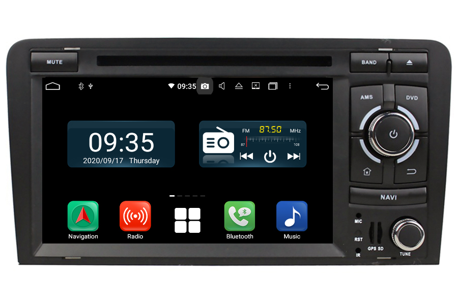 Audi A3/S3/RS3(8P) 2003-2013 Aftermarket Radio Upgrade