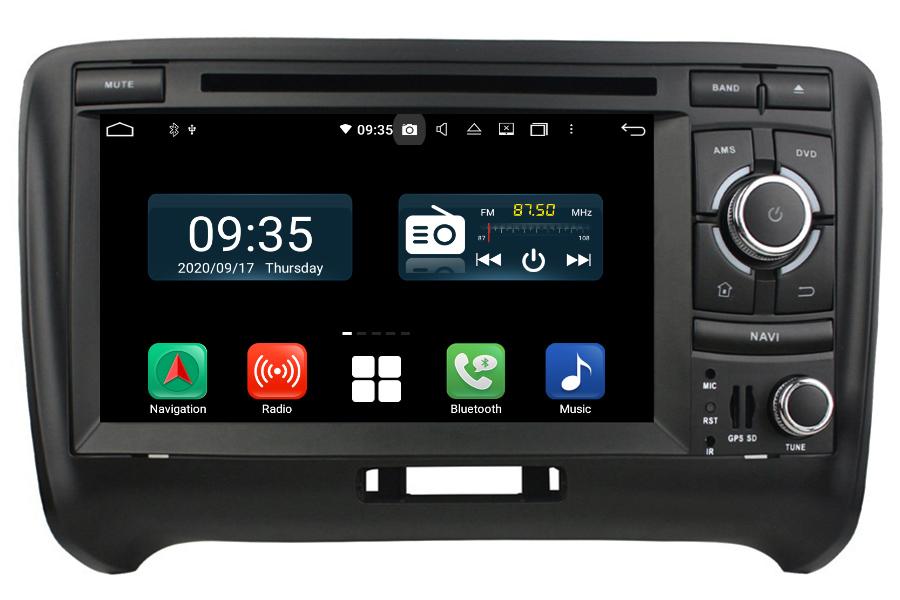 Audi TT/TTS(MK2) 2006-2013 Aftermarket Radio Upgrade