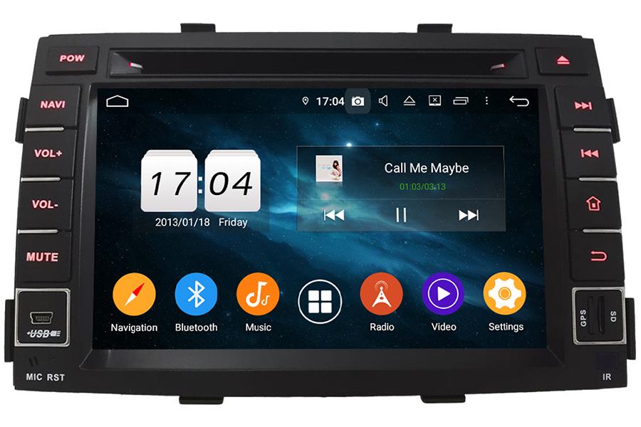 Kia Sorento 2009-2012 Autoradio GPS Aftermarket Android Head Unit Navigation Car Stereo