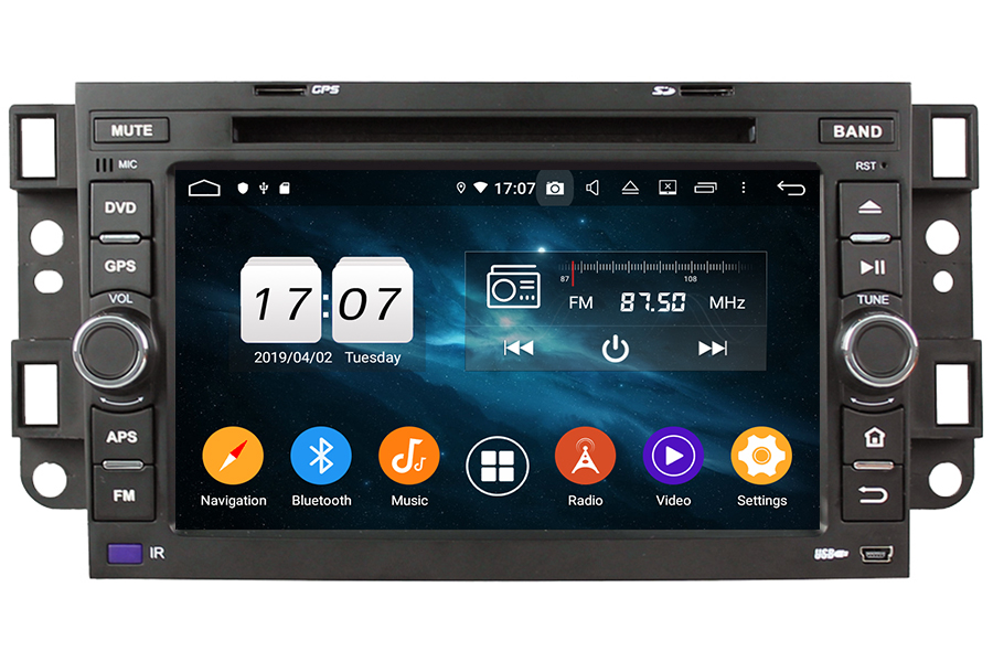 Chevrolet Series 2002-2011 Autoradio GPS Aftermarket Android Head Unit Navigation Car Stereo