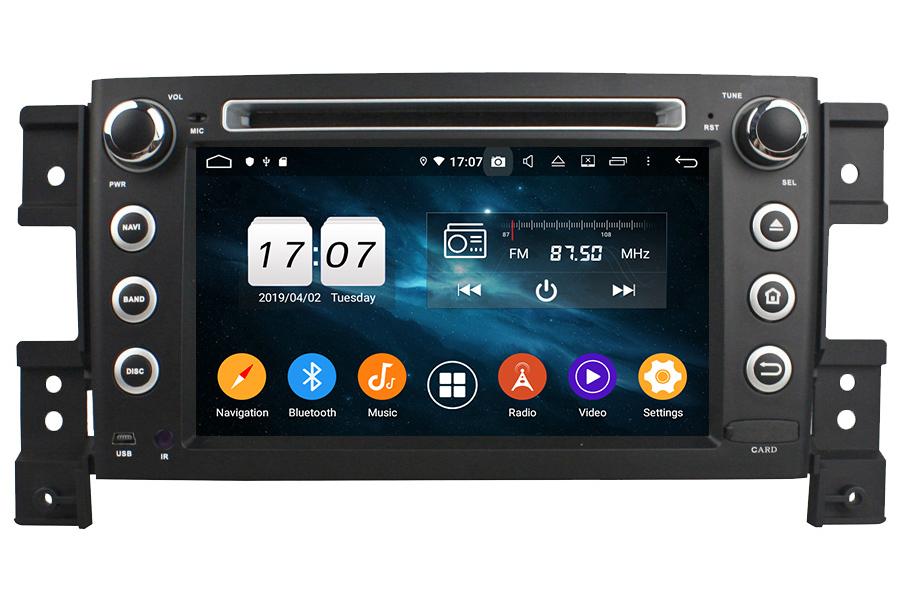 Suzuki Grand Vitara/Grand Nomade 2005-2012 Autoradio GPS Aftermarket Android Head Unit Navigation Car Stereo