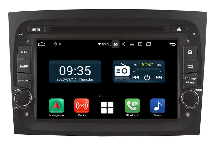 Fiat Doblo 2015-2018 Aftermarket Radio Upgrade
