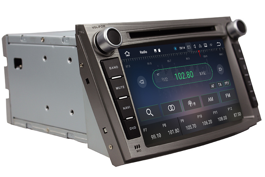 Subaru Legacy/Outback 2008-2014 Autoradio GPS Aftermarket Android Head Unit Navigation Car Stereo