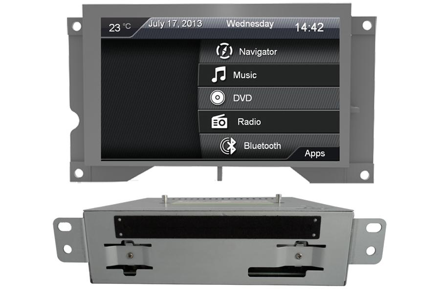 Citroen DS5 Aftermarket Navigation DVD Player Head Unit