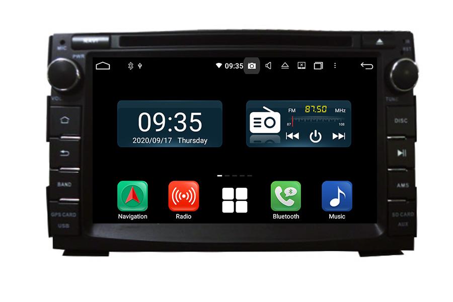Kia Ceed 2010-2012 Aftermarket Radio Upgrade