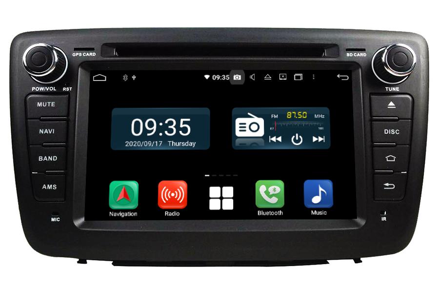 Suzuki Baleno 2016-2018 Aftermarket Radio Upgrade