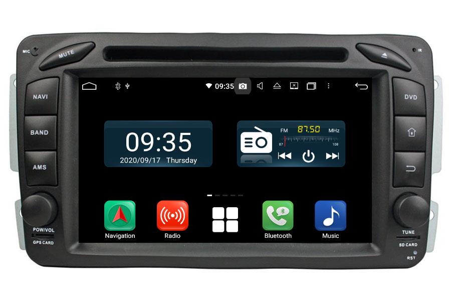 Mercedes-Benz A/C/CLK/E/G/M/ML/S Aftermarket Radio Upgrade