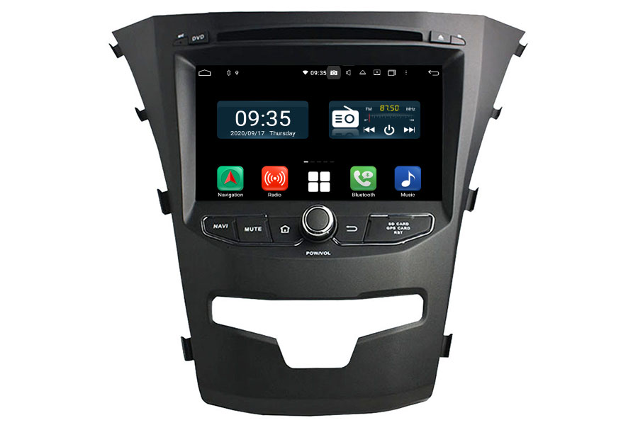 SsangYong Korando 2014-2015 Aftermarket Radio Upgrade