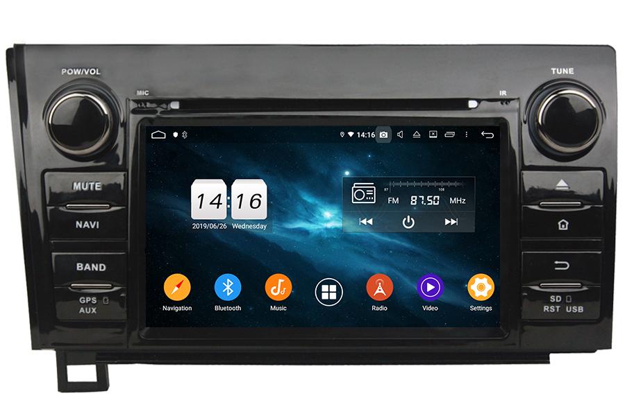 Toyota Sequoia/Tundra Autoradio GPS Aftermarket Android Head Unit Navigation Car Stereo