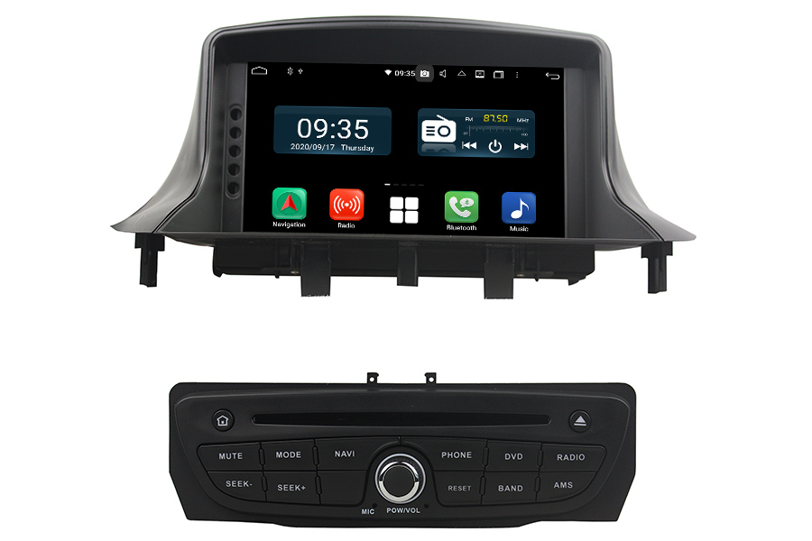 Renault Megane III 2009-2016 Sat Navigator Stereo